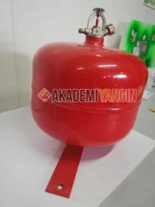 Portatif askılı otomatik yangın söndürme cihazları