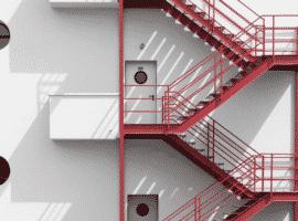 Bina yangın merdiveni