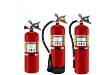 Portatif askılı otomatik yangın söndürme tüpü